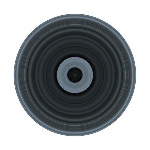 Gaphiques de l'Electrosmog de 0.1 à 144 MHz - 2012